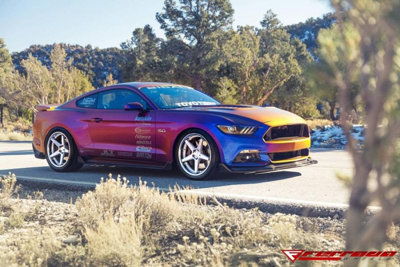 Need4Speed Motorsports Ford Mustang GT S550 Ferrada FR3 Tuning 6 Crazy Optik   Ford Mustang GT S550 by N4SM