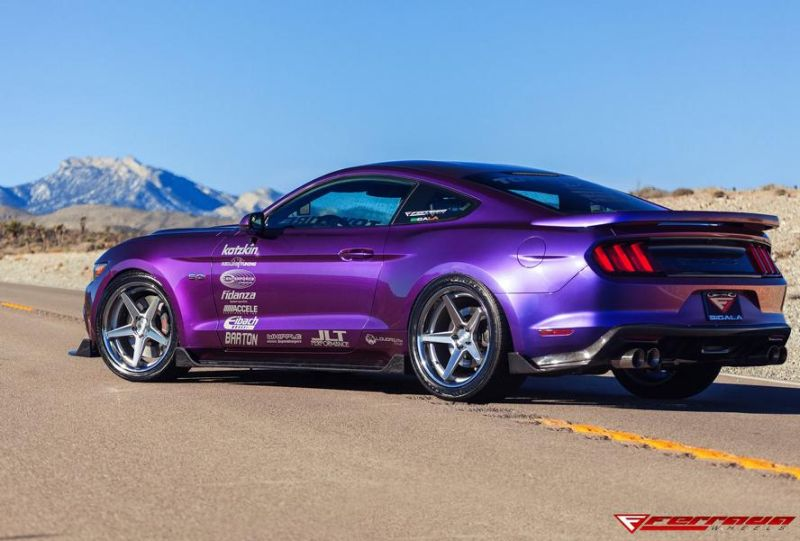 Need4Speed Motorsports Ford Mustang GT S550 Ferrada FR3 Tuning 8 Crazy Optik   Ford Mustang GT S550 by N4SM