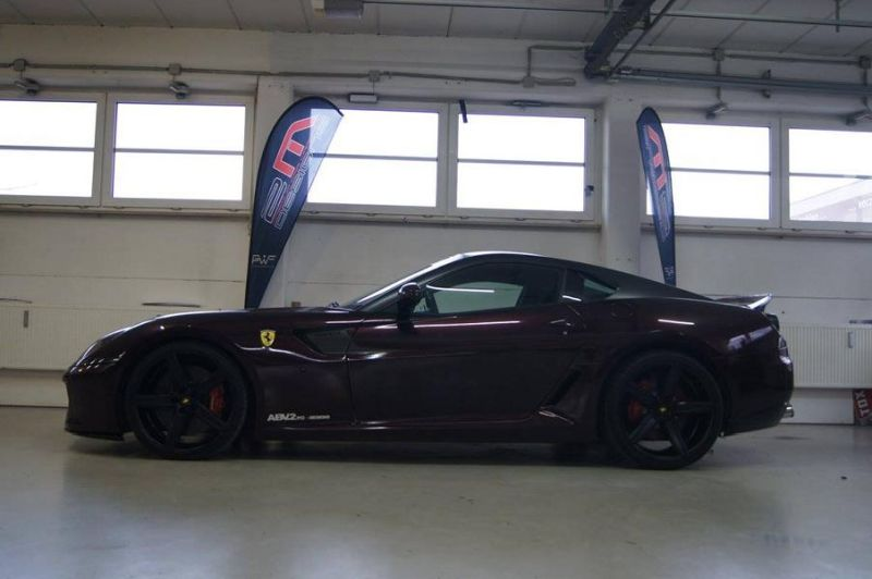 Novitec Vorsteiner Tuning Ferrari 599 GTB Black Rose 2M Designs 3 Ferrari 599 GTB Black Rose by 2M Designs