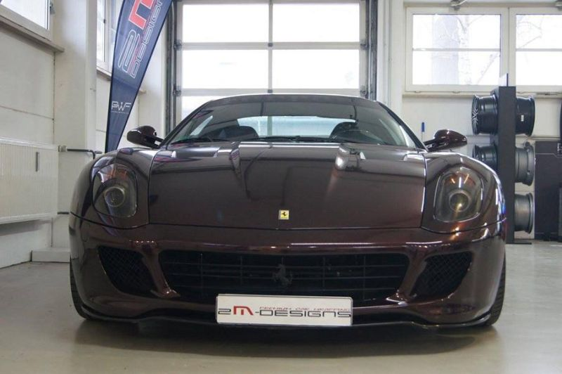 Novitec Vorsteiner Tuning Ferrari 599 GTB Black Rose 2M Designs 5 Ferrari 599 GTB Black Rose by 2M Designs
