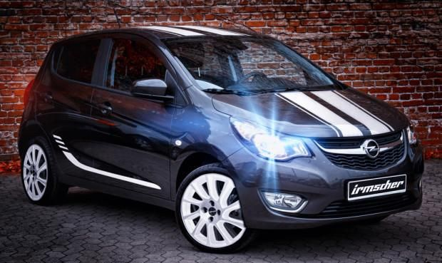 Opel Karl Race Edition Tuning Irmscher Irmscher tunt den kleinsten   Opel Karl Race Edition
