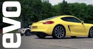 Porsche Cayman S vs. Caterham 7 Roadsport 140 e1455772101525 310x165 Video: Porsche Cayman S vs. Caterham 7 Roadsport 140