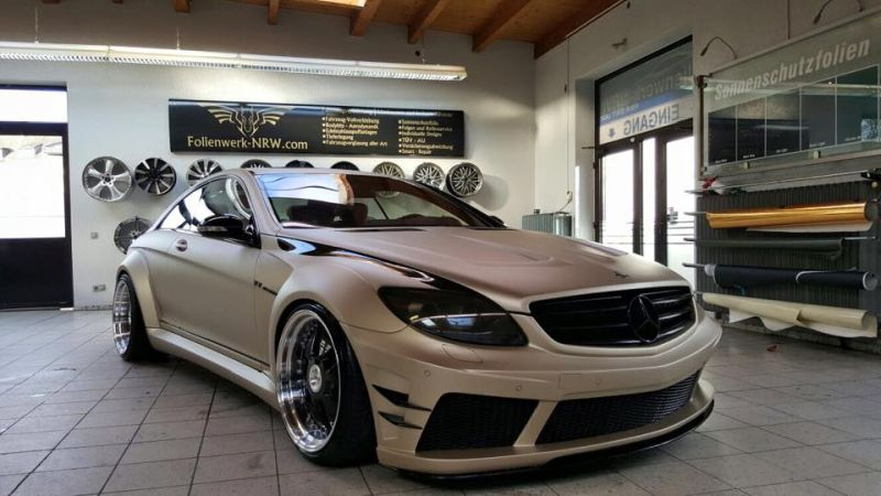Prior Design Black Edition V2 Widebody Mercedes CL W216 1 Prior Design Black Edition V2 Widebody Mercedes CL by Folienwerk