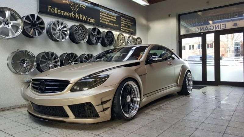 Prior Design Black Edition V2 Widebody Mercedes CL W216 3 Prior Design Black Edition V2 Widebody Mercedes CL by Folienwerk