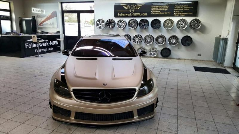 Prior Design Black Edition V2 Widebody Mercedes CL W216 6 Prior Design Black Edition V2 Widebody Mercedes CL by Folienwerk