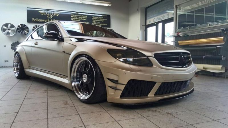 Prior Design Black Edition V2 Widebody Mercedes CL W216 7 Prior Design Black Edition V2 Widebody Mercedes CL by Folienwerk