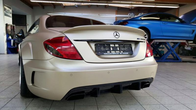 Prior Design Black Edition V2 Widebody Mercedes CL W216 8 Prior Design Black Edition V2 Widebody Mercedes CL by Folienwerk