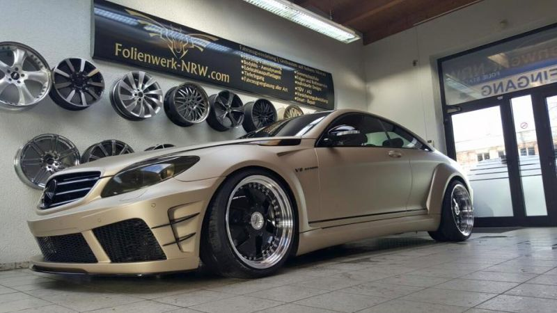 Prior Design Black Edition V2 Widebody Mercedes CL W216 9 Prior Design Black Edition V2 Widebody Mercedes CL by Folienwerk