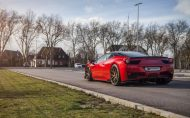 Prior Design Ferrari 458 Italia Dragon Fire Red by Folienwerk NRW 6 190x118 Prior Design Ferrari 458 Italia in Dragon Fire Red by Folienwerk