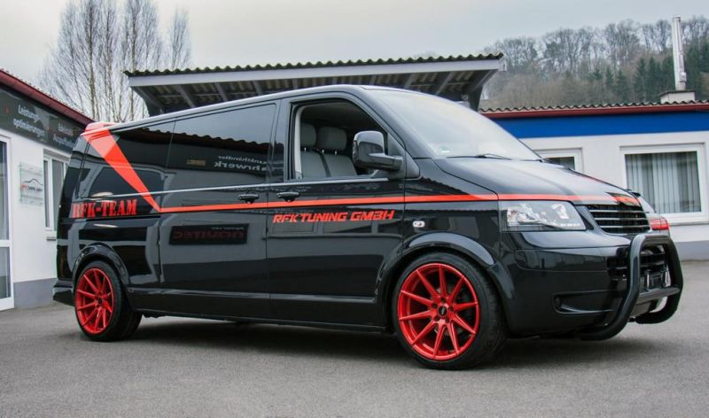 RFK Tuning GmbH VW T5 Bus A Team GMC Vandura Auto Style 4 A Team is back   RFK Tuning GmbH VW T5 Bus