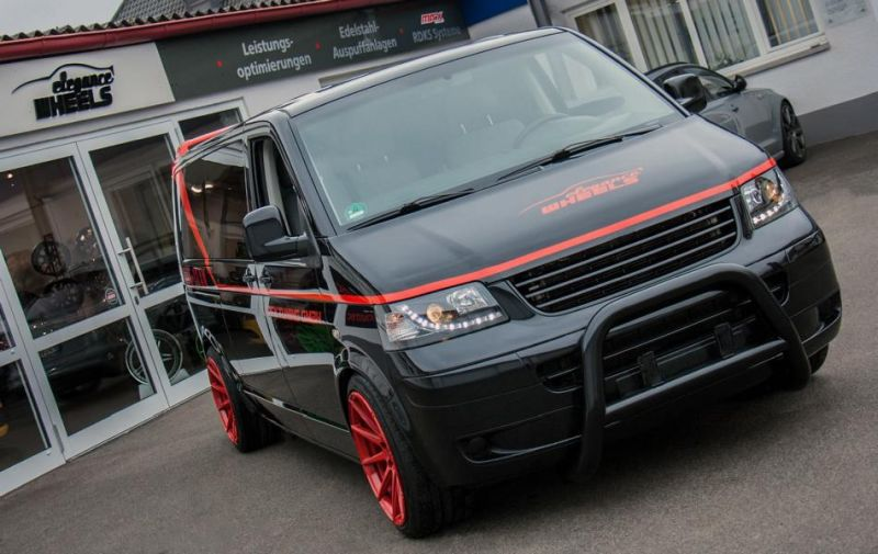 RFK Tuning GmbH VW T5 Bus A Team GMC Vandura Auto Style 5 A Team is back   RFK Tuning GmbH VW T5 Bus
