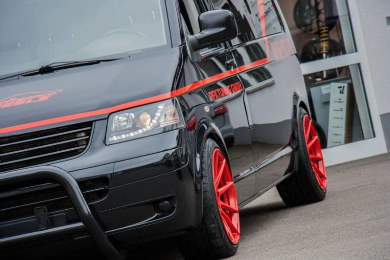 RFK Tuning GmbH VW T5 Bus A Team GMC Vandura Auto Style 6 A Team is back   RFK Tuning GmbH VW T5 Bus