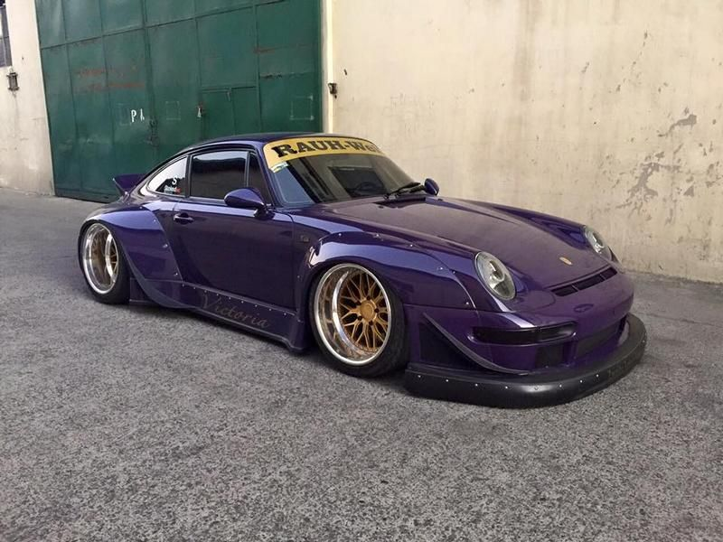 rauh welt rwb porsche 911 993 breitbau mit v8 power. Black Bedroom Furniture Sets. Home Design Ideas