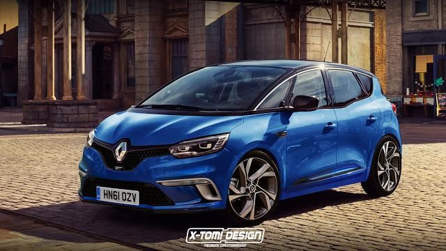 Renault Scénic GT by X Tomi Design Rendering: Renault Scénic GT by X Tomi Design