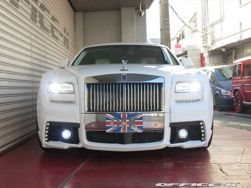 Rolls Royce Ghost V Spec Wald Internationale Black Bison Office K 1 Dezent   Rolls Royce Ghost V Spec by Office K