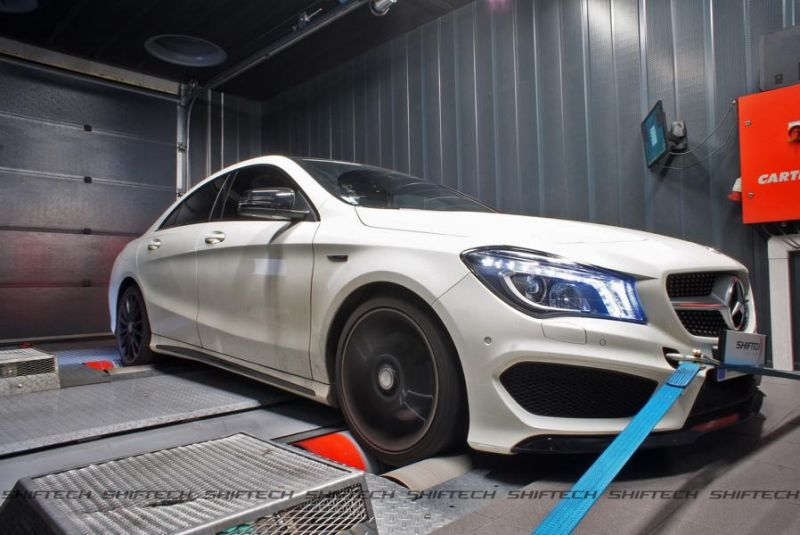 Shiftech Mercedes CLA 250 CGI 2.0T Chiptuning 1 260PS & 405NM im Shiftech Mercedes CLA 250 CGI 2.0T