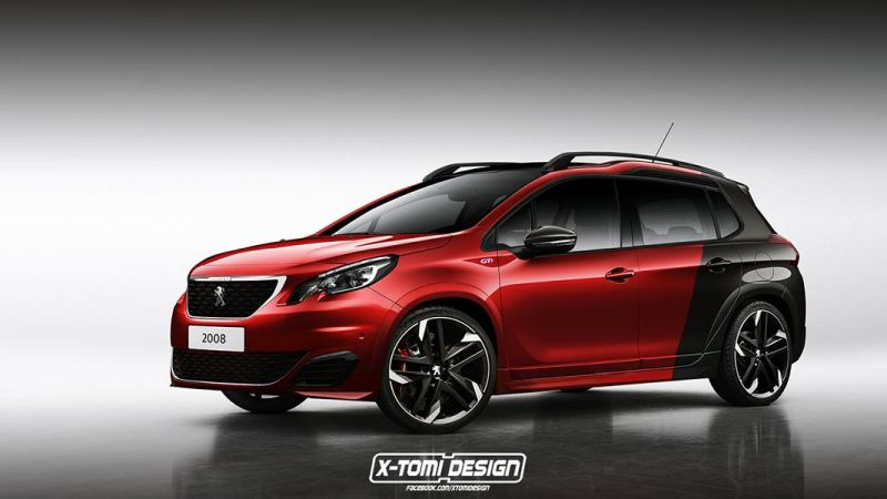 Sportliches Mini SUV Peugeot 2008 GTi by X Tomi Design 1 Sportliches Mini SUV Peugeot 2008 GTi by X Tomi Design