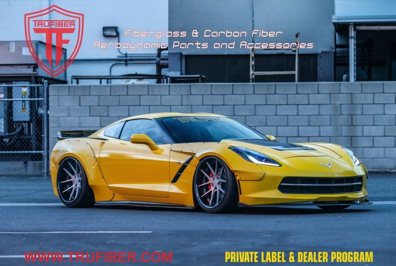 Trufiber Chevrolet Corvette C7 Widebody 1 Mega Fett   Trufiber Chevrolet Corvette C7 Z06 Widebody