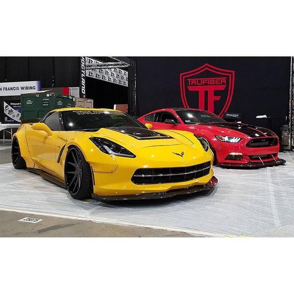Trufiber Chevrolet Corvette C7 Widebody 2 Mega Fett   Trufiber Chevrolet Corvette C7 Z06 Widebody