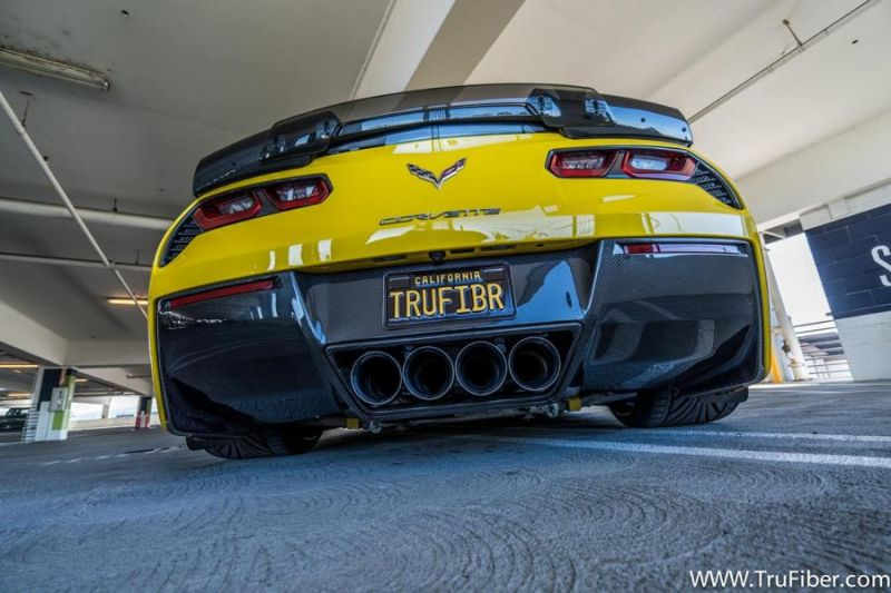 Trufiber Chevrolet Corvette C7 Z06 Widebody 3 Mega Fett   Trufiber Chevrolet Corvette C7 Z06 Widebody