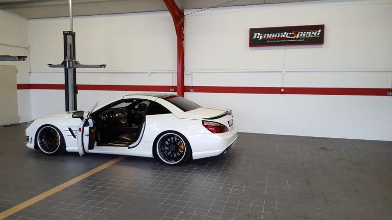Tuning DynamicSpeed AutomobilDesign Mercedes SL63 AMG PP R231 2 DynamicSpeed AutomobilDesign   Mercedes SL63 AMG