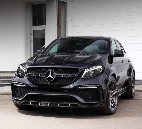 """Tuning Mercedes-Benz GLE Coupe """"Inferno"""" TopCar 2"""