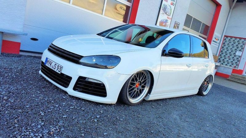 perfekt vw golf 6 r look mit hp drivetech bbs. Black Bedroom Furniture Sets. Home Design Ideas