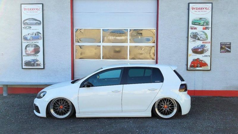 VW Golf 6 R Look HP Drivetech BBS Streetec 6 Perfekt   VW Golf 6 R Look mit HP Drivetech & BBS