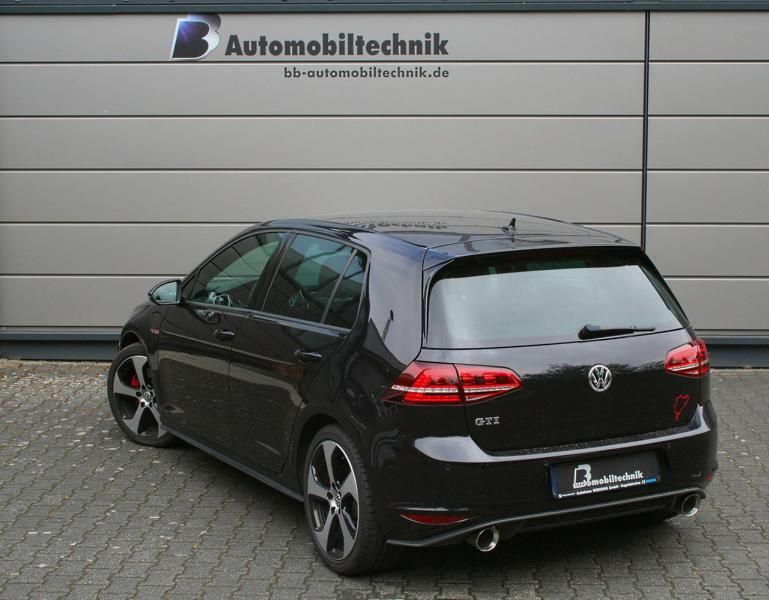 vw golf 7 gti performance mit 300ps by b b. Black Bedroom Furniture Sets. Home Design Ideas