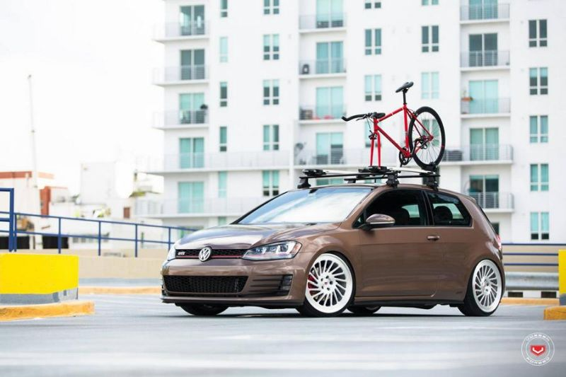 VW Golf VII GTI Vossen Wheels LC 106T Tuning 1 VW Golf VII GTI mit Vossen Wheels LC 106T Alu's