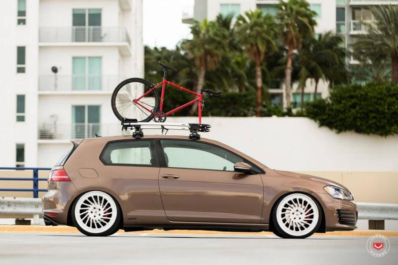 VW Golf VII GTI Vossen Wheels LC-106T Tuning 3