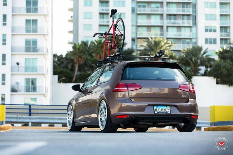 VW Golf VII GTI Vossen Wheels LC-106T Tuning 5