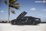 Wheels Boutique BMW i8 HRE P101 22 Zoll Tuning 6 190x127 Pechschwarz   Wheels Boutique BMW i8 auf HRE Alu's