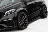 topcar merc gle 350d inferno tuning 2017 7 190x127 Mercedes Benz GLE Coupe Inferno vom Tuner TopCar