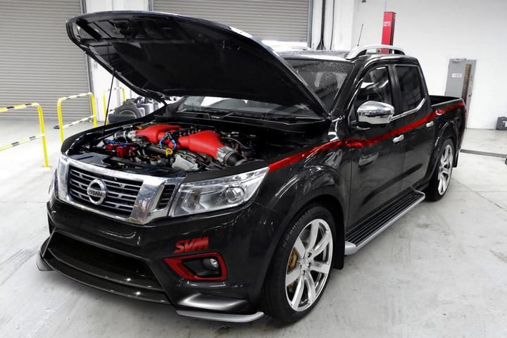 1.500PS Nissan Navara Servern Valley Motorsport 1 1.500PS im Nissan Navara? Severn Valley Motorsport zeigt wie!