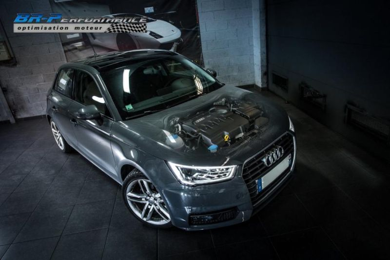 147PS 2016er Audi A1 1.6 TDI CR Chiptuning BR Performance Paris 2