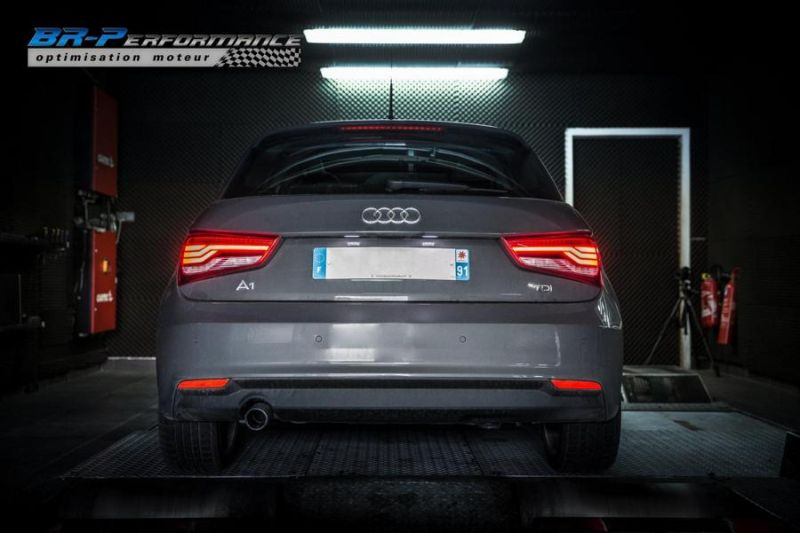 147PS 2016er Audi A1 1.6 TDI CR Chiptuning BR Performance Paris 4 147PS im 2016er Audi A1 1.6 TDI CR von BR Performance Paris