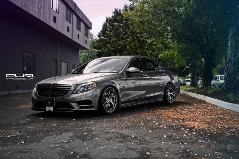 20 Zoll 4OUR PUR Wheels Mercedes Benz S550 EPD Motorsports 1 Passt   20 Zoll 4OUR PUR Wheels am Mercedes Benz S550