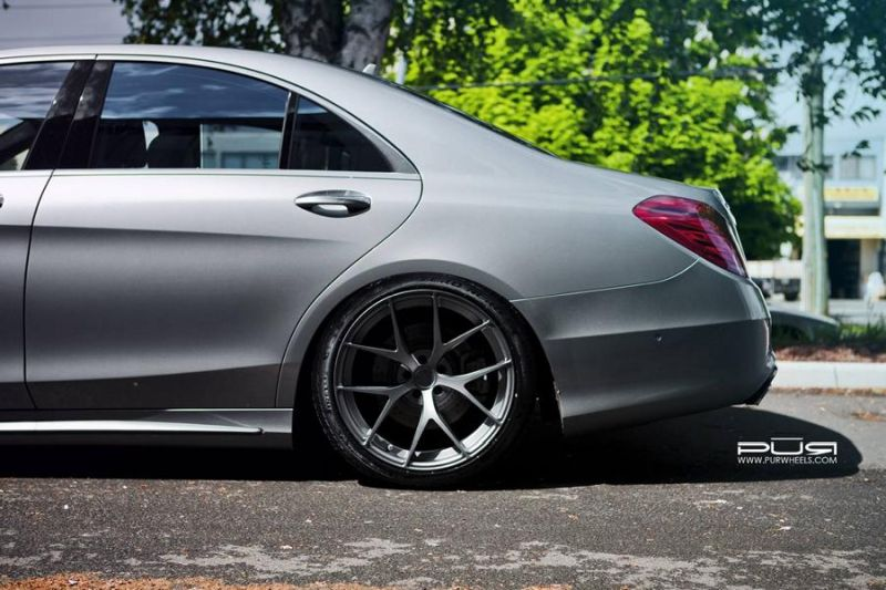 20 Zoll 4OUR PUR Wheels Mercedes Benz S550 EPD Motorsports 2 Passt   20 Zoll 4OUR PUR Wheels am Mercedes Benz S550