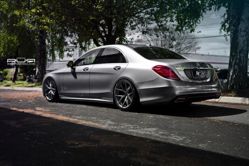 20 Zoll 4OUR PUR Wheels Mercedes Benz S550 EPD Motorsports 3 Passt   20 Zoll 4OUR PUR Wheels am Mercedes Benz S550