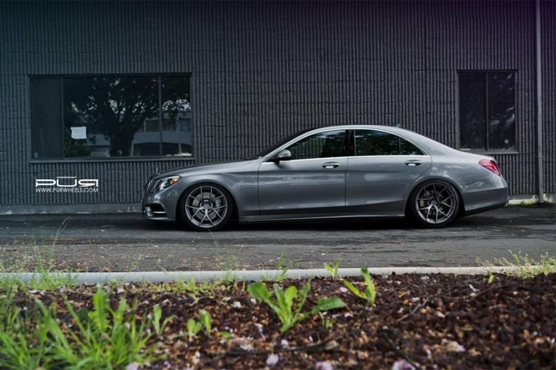 20 Zoll 4OUR PUR Wheels Mercedes Benz S550 EPD Motorsports 4 Passt   20 Zoll 4OUR PUR Wheels am Mercedes Benz S550