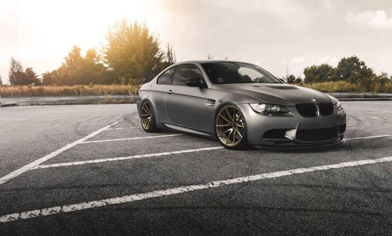 20 Zoll Brixton Forged WR3 Felgen BMW E92 M3 Tuning 3 Top   20 Zoll Brixton Forged WR3 Felgen am BMW E92 M3