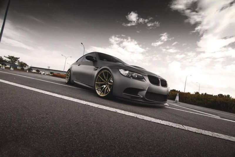 20 Zoll Brixton Forged WR3 Felgen BMW E92 M3 Tuning 4 Top   20 Zoll Brixton Forged WR3 Felgen am BMW E92 M3