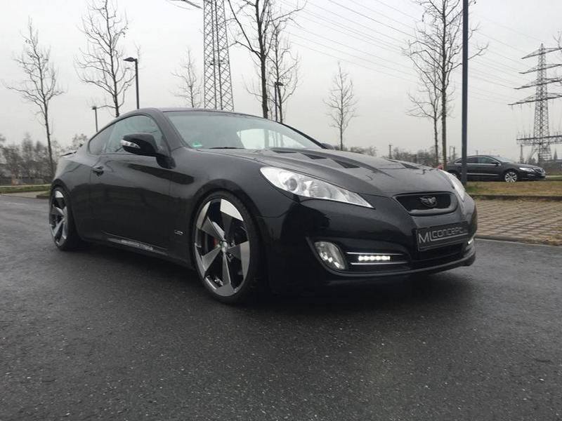 20 Zoll Hyundai Genesis Coup%C3%A9 by ML Concept Tuning 1 20 Zoll Alu's am Hyundai Genesis Coupé by ML Concept