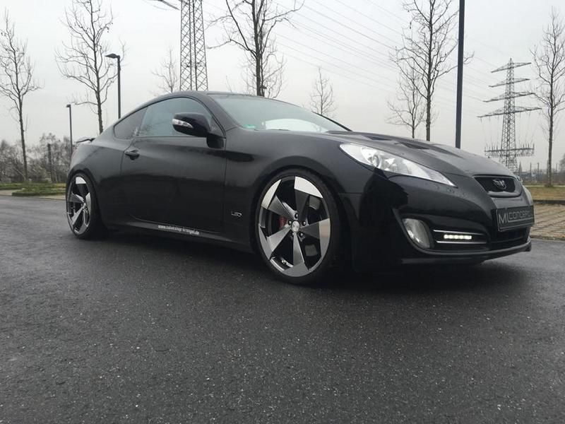 20 Zoll Hyundai Genesis Coup%C3%A9 by ML Concept Tuning 2 20 Zoll Alu's am Hyundai Genesis Coupé by ML Concept