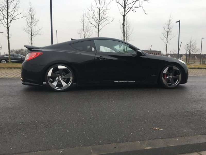 20 Zoll Hyundai Genesis Coup%C3%A9 by ML Concept Tuning 4 20 Zoll Alu's am Hyundai Genesis Coupé by ML Concept