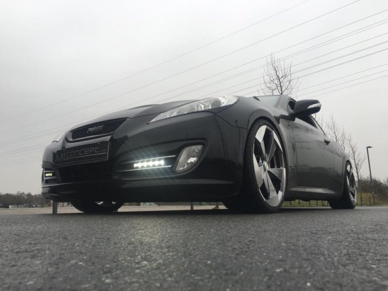 20 Zoll Hyundai Genesis Coup%C3%A9 by ML Concept Tuning 8 20 Zoll Alu's am Hyundai Genesis Coupé by ML Concept