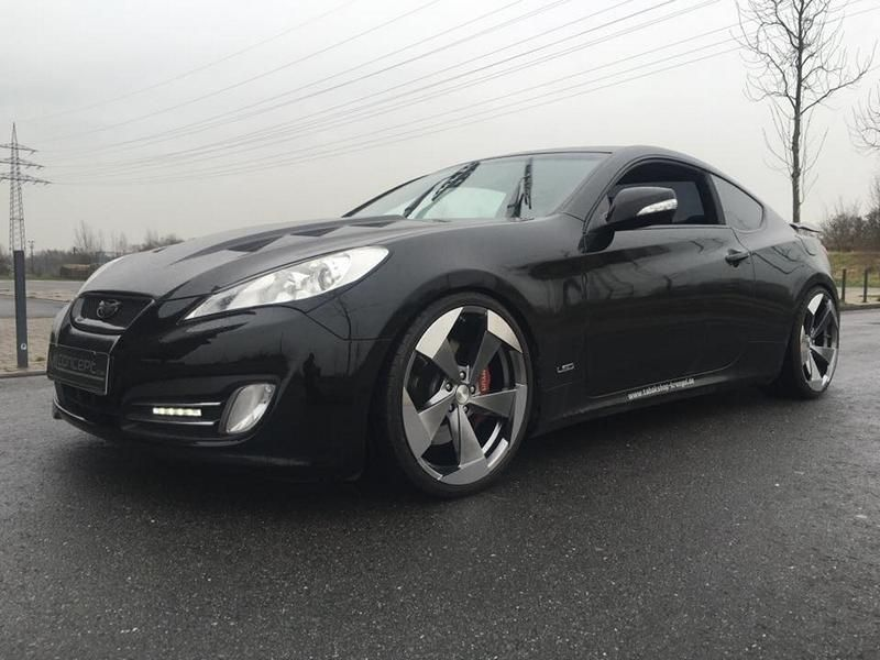 20 Zoll Hyundai Genesis Coup%C3%A9 by ML Concept Tuning 9 20 Zoll Alu's am Hyundai Genesis Coupé by ML Concept