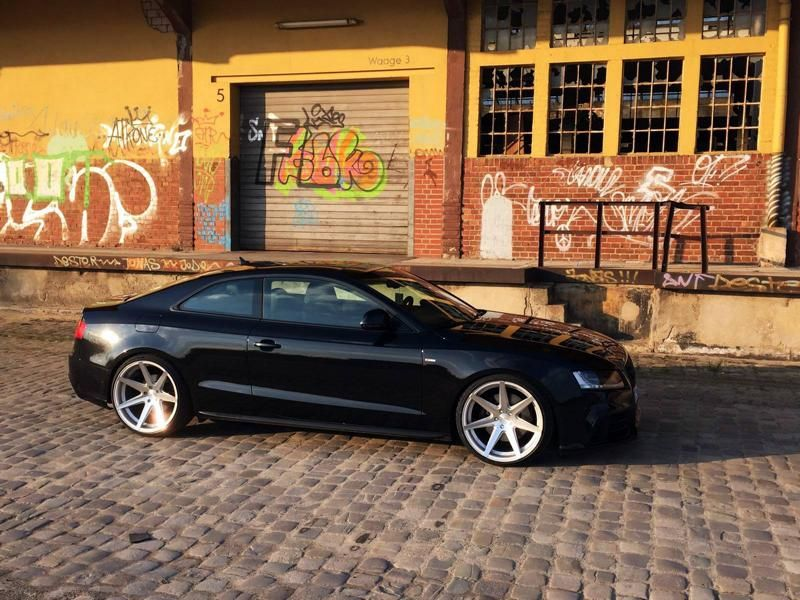 20 Zoll Rohana RC7 Alufelgen Audi A5 Coupe Tuning Concave Wheels 1 20 Zoll Rohana RC7 Alufelgen am Audi A5 Coupe von Concave Wheels