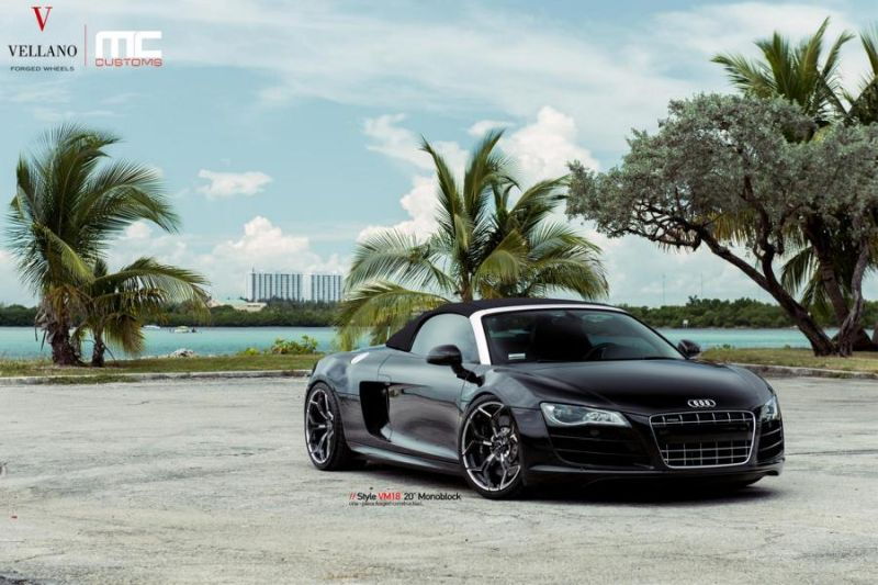 20 Zoll VM18 Vellano Forged Wheels Audi R8 Cabrio Tuning 1 20 Zoll VM18 Vellano Forged Wheels am Audi R8 Cabrio